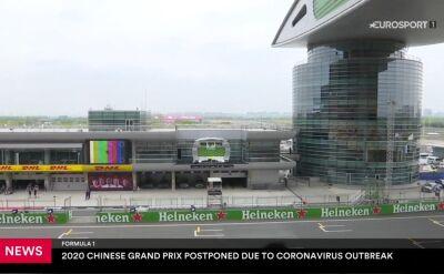 Grand Prix Chin odwołane z powodu koronawirusa