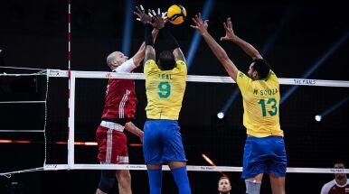 Brazylijczycy dali lekcję Polakom w finale Ligi Narodów