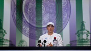 Iga Świątek o pierwszej rywalce w Wimbledonie.