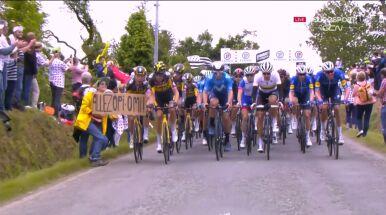 Policja szuka sprawczyni kraksy w Tour de France