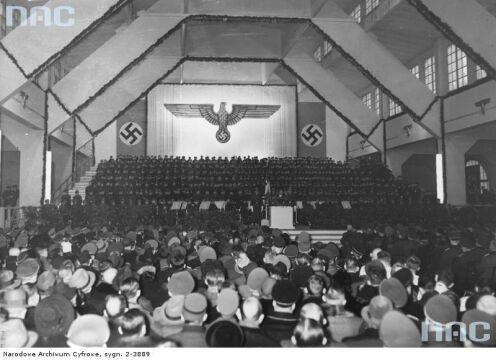 Wizyta Goebbelsa na poznańskich targach w 1940 r.
