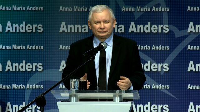 Całe wystąpienie Jarosława Kaczyńskiego w Łomży