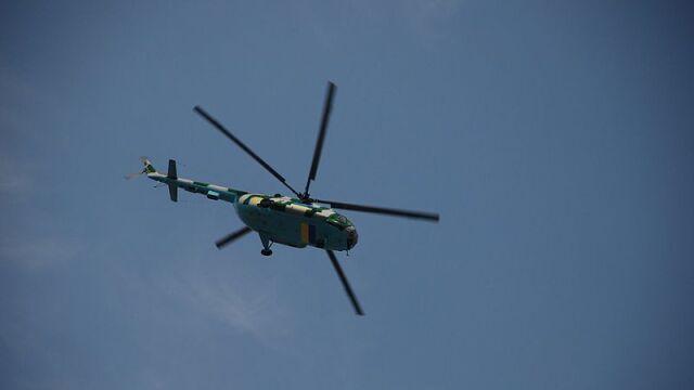 Mi-8 rozbił się tuż po starcie. Nie żyje pięć osób
