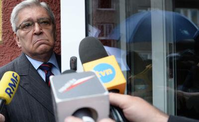 Kondracki przed wejściem do prokuratury: od początku proponowaliśmy, żeby poczekać do soboty. Ale Bogu dzięki, jest tak jak jest