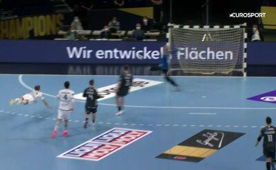 Kapitalna interwencja Nielsena w meczu THW Kiel - Nantes
