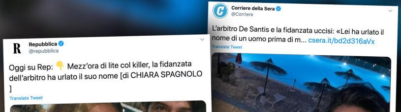 Krzyki, plamy krwi i żółty plecak. We Włoszech trwają poszukiwania zabójcy sędziego
