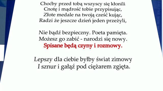 Tusk Popierał Protasiewicza Schetyna Odpowiada Miłoszem