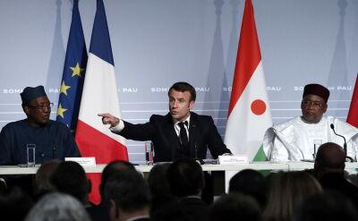 Emmanuel Macron zapowiedział wysłanie żołnierzy do Afryki Zachodniej