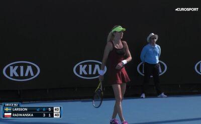 Ula Radwańska odpadła w pierwszej rundzie kwalifikacji do Australian Open