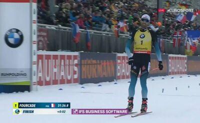 Fourcade wygrał bieg pościgowy w Ruhpolding