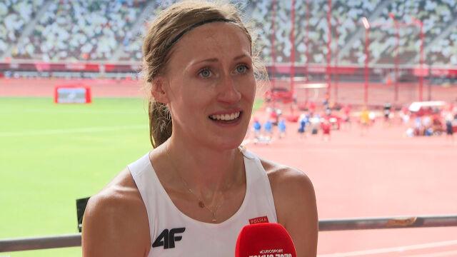 Tokio. Galant po awansie do półfinałów biegu na 1500 m kobiet