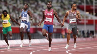 Sprinter o polskim nazwisku wicemistrzem na 200 metrów. Kapitalny czas w finale