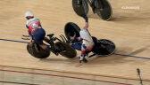 Tokio. Brytyjki wywróciły się po minięciu mety w biegu eliminacyjnym w wyścigu pościgowym
