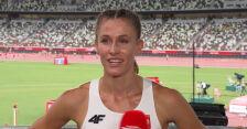 Tokio. Kaczmarek po biegu półfinałowym na 400 m kobiet