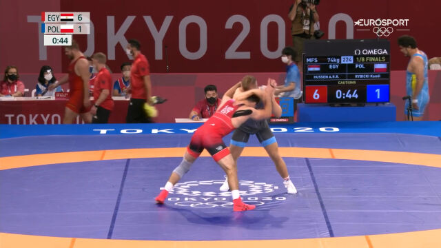 Tokio. Rybicki przegrał w 1/8 finału rywalizacji w zapasach w stylu wolnym
