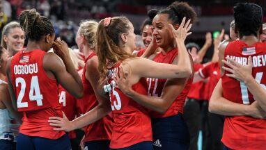Dominacja w olimpijskim finale. Siatkarki USA w końcu dopięły swego