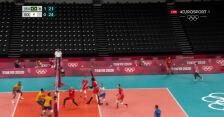 Tokio. Rosyjski Komitet Olimpijski wygrał 2. seta w starciu z Brazylią w półfinale