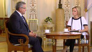 Komorowski: prezydent, który chciałby toczyć spór z większością parlamentu, byłby nieodpowiedzialny