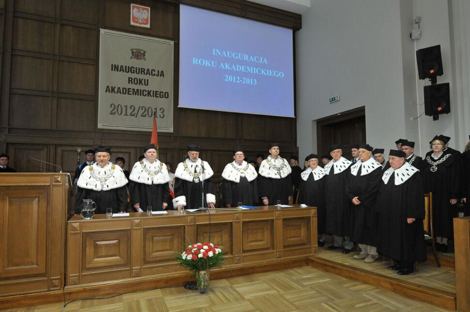 Przedstawiciele władz Politechniki Gdańskiej