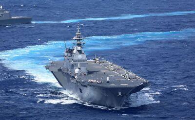 Największy japoński okręt - Izumo