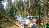 Ewakuowano ponad 700 osób. Wichura zniszczyła ośrodek w Szczutowie