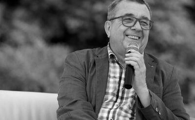 """Z okazji 16-lecia TVN24 z Grzegorzem Miecugowem rozmawiał Paweł Płuska, reporter """"Faktów"""" TVN"""