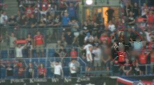 Akt oskarżenia dla hajlujących na stadionie Wisły