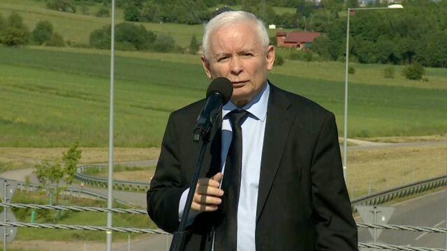 Jarosław Kaczyński w Rzeszowie