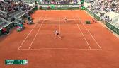 Skrót meczu Linette – Jabeur w 3. rundzie French Open