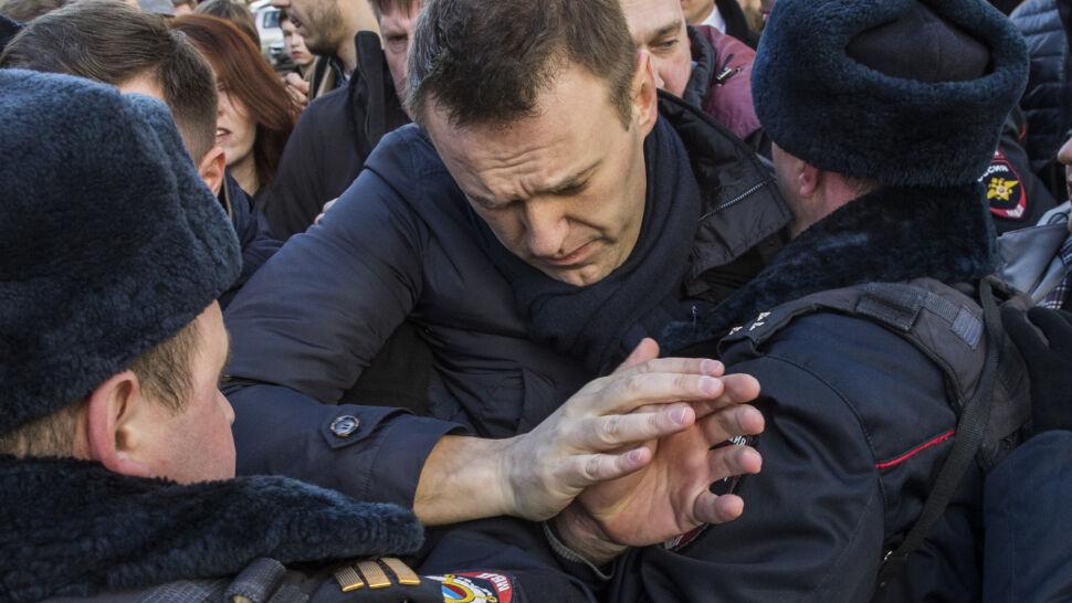 Nawalny kandydatem do nagrody Sacharowa