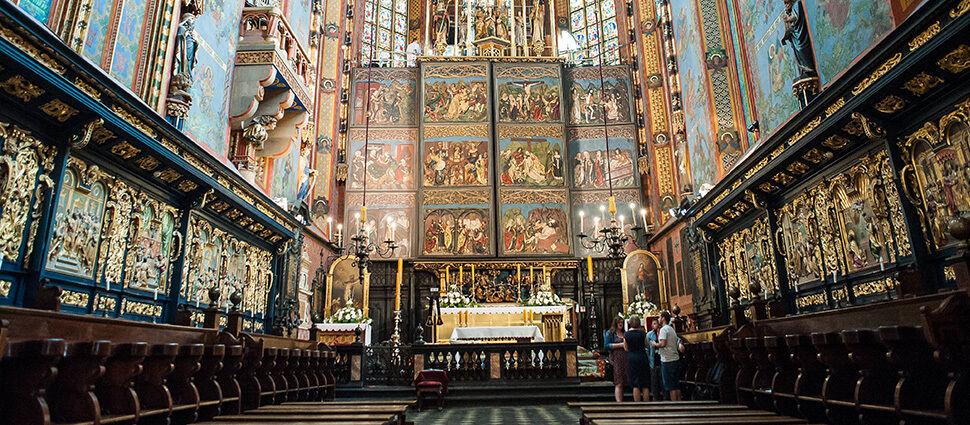 Konserwacja ołtarza Wita Stwosza  i sensacyjne odkrycie