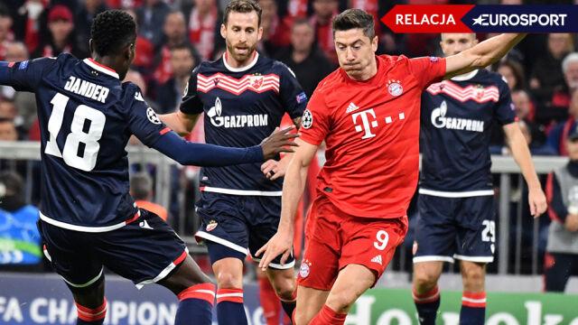 Bayern z wygraną w Lidze Mistrzów. Lewandowski upolował swojego gola