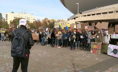 """""""Protest Tysiąca Miast"""" w Katowicach"""