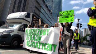Młodzież w obronie klimatu. Manifestacje  w całej Polsce