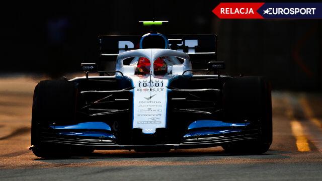 Leclerc odparł atak Hamiltona. Nocna rywalizacja w Singapurze