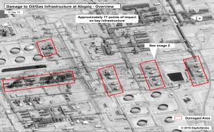Atak na saudyjskie rafinerie