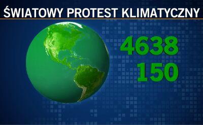 Ogólnoświatowy strajk klimatycznych przetoczy się przez całą kulę ziemską
