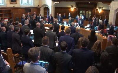 Orzeczenie Sądu Najwyższego o legalności zawieszenia parlamentu za kilka dni