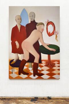 Joanna Woś, Bez tytułu, 2019, olej na płótnie