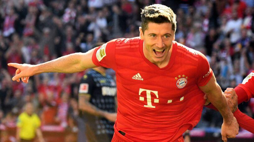 Ekspresowy gol Lewandowskiego. Bayern gra z FC Koeln