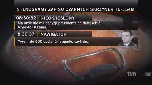 Mariusz Kazana: Na razie nie ma decyzji prezydenta, co dalej robić