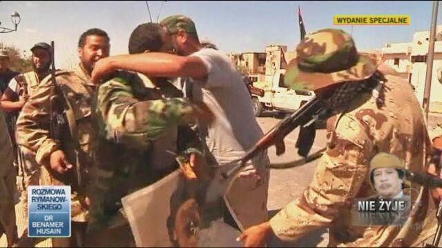 Libia ostatnich ośmiu miesięcy (TVN24)