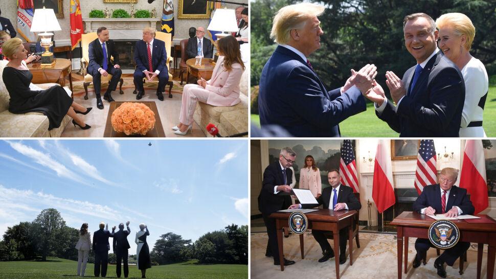 Pięć efektów wizyty Dudy w Białym Domu. Trump: Polska to wzorowy sojusznik