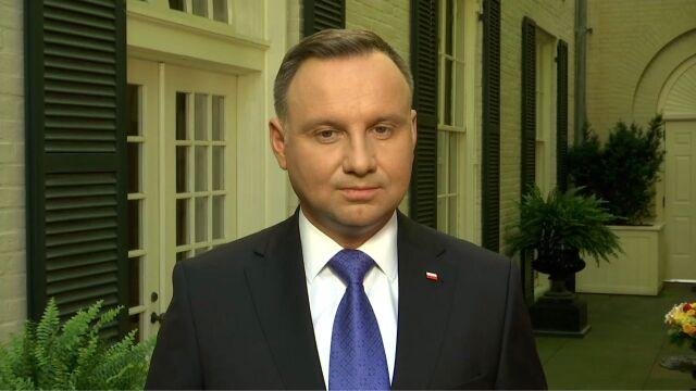 Andrzej Duda o relacjach z Rosją