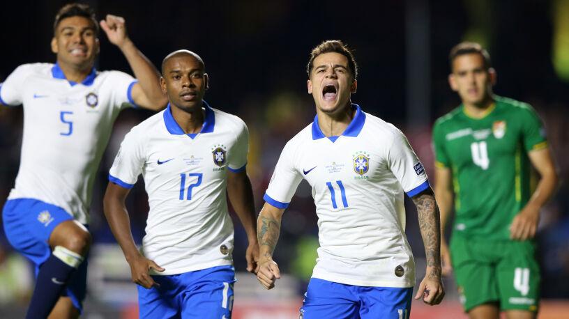 Trzy gole i pewna wygrana Brazylii. Wystartowała Copa America