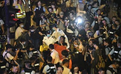 Masowe protesty na ulicach Hongkongu