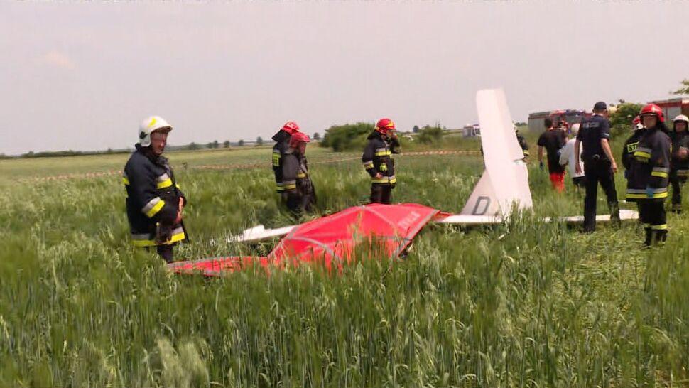 Szybowiec rozbił się podczas zawodów. Pilot nie żyje