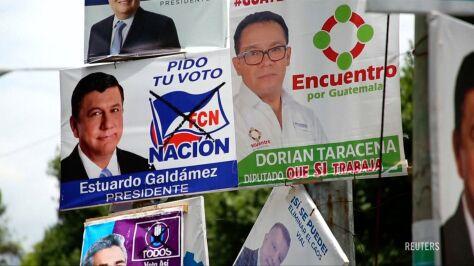 19 kandydatów walczy o fotel prezydenta Gwatemali. W tle korupcja i zastraszanie