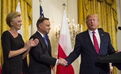 """""""Sto lat"""" dla prezydenta Trumpa w Białym Domu"""