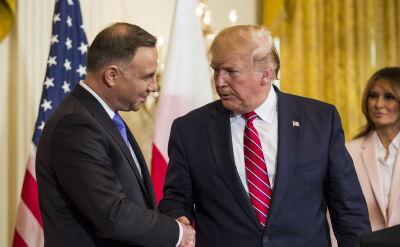 """""""Panie prezydencie w Polsce mamy świadomość, że jest Pan naszym wielkim przyjacielem"""""""